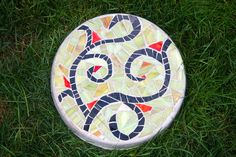 Mosaic Stepping Stones - Christine Kenneally Mosaic Artist