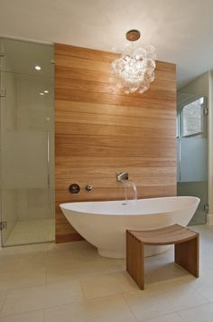 115 Best Modern Contemporary Bathroom Design Ideas Collections that Worth to See - Page 44 of 118 Modern Contemporary Bathrooms, Modern Bathroom, Bathroom Design Small, Bathroom Layout, Tubs For Sale, Freestanding Tub Filler, Mid Century Bathroom, Wall Mount Faucet, Faucet Handles