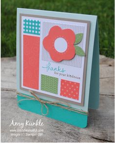 Design by Amy Kunkle, crazybeYOUtiful, more paper pumpkin alternate ideas, Endless Thanks, June 2015 Paper Pumpkin