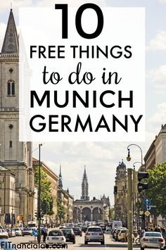 10 free things to do in Munich, Germany! This is such a helpful list for any budget travelers out there! :)