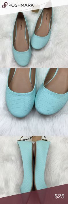 🌺Call It Spring Bright Blue  Zipper Back Flats Call It Spring NWT Women's Bright Blue  Zipper Back Flats Size 6, 6.5  This is new with tags.  This has never been worn. Please refer to photos for more details. Call It Spring Shoes Flats & Loafers