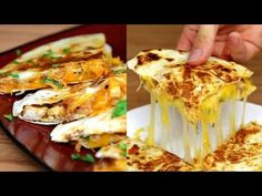 BBQ Chicken Quesadillas - Learn how to make BBQ Chicken Quesadillas - Ingredients - Recipe - Preparation - BuzzFeed Food VIDEO http://www.buzzfeed.com/food B...