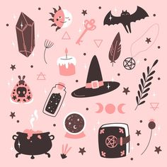 Witch Aesthetic, Aesthetic Art, Halloween Illustration, Illustration Art, Tumblr Wallpaper, Witchy Wallpaper, Arte Sketchbook, Simple Doodles, Witch Art