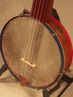 Boucher banjo, made by George Wunderlich. Old skool fretless.