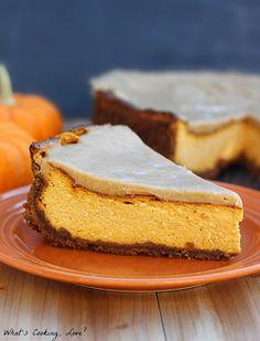 Biscoff Pumpkin Cheesecake - Whats Cooking Love?