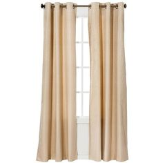 Eclipse Light Blocking Grafton Thermaback Curtain Panel ($28) ❤ liked on Polyvore featuring home, home decor, window treatments, curtains, target curtain panels, target curtains, eclipse curtains, textured curtains and eclipse curtain panels