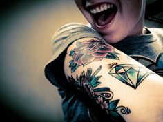 36 Meilleures Images Du Tableau Tatouage Diamant Diamond Tattoos
