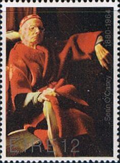 Eire Ireland 1980 Sean O'Casey postage stamp