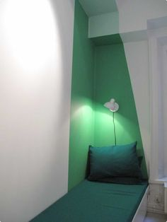 painted bedroom corner