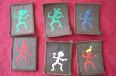 Brownie Guides - Which one were you? I was a Sprite - middle top
