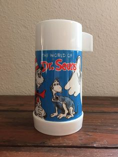 1970 The World of Dr. Seuss Thermos / The Cat in the Hat /
