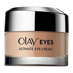Olay Eyes Ultimate Eye Cream: This vitamin- and peptide-packed formula goes to town de-puffing, smoothing, and brightening. Bonus: its lightweight consistency.