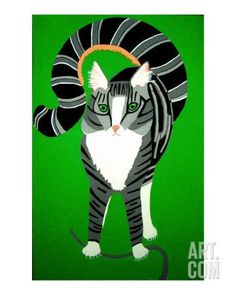 Tigger, The Hunter Giclee Print by Miss Linda at Art.com
