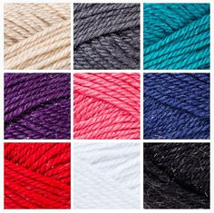 Red Heart Sparkle Soft – new yarn!