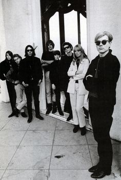 The Velvet Underground, Nico, and Andy Warhol. Without the Velvets there would be no punk rock.