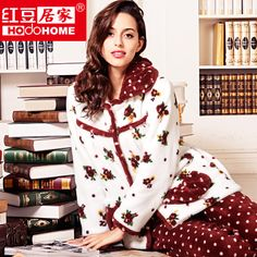 f19fb65b97 2013 new arrival women s thickening coral fleece pajama sets free shipping   46.50. Pulkit Kapoor · Woolen Night suits