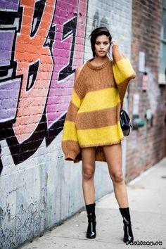 New York Fashion Week весна-лето 2018 - street style