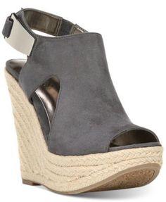 d9d961719de9 carlos santana Carlos by Carlos Santana Malor Slingback Platform Wedge  Espadrille Sandals – Sandals – Shoes