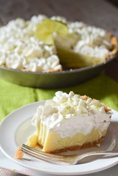 Super Simple Key Lime Pie   www.lemon-sugar.com