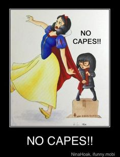 silly snow white...