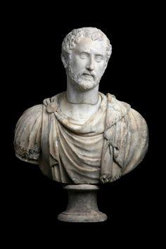 Bust of emperor Antonin the Pious Roman, mid - IInd century A. Roman Sculpture, Sculpture Art, Roman History, Art History, Ancient Rome, Ancient History, Antoninus Pius, Art Romain, Roman Emperor