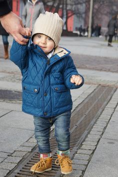 First walk of my 14 month son