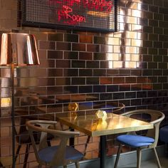 The Pound at One Pound Lane, Canterbury featuring Tom Dixon accesories and lighting * Interiors Interiors Interiors * The Inner Interiorista