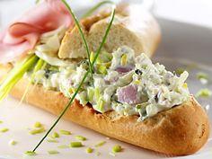 hampreisalade Pesto Dip, Toast Sandwich, Mini Foods, Bon Appétit, Dip Recipes, Salad Recipes, Snack Recipes, High Tea, Salsa