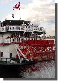 Le steamer Natchez