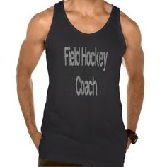 Field Hockey Coach Extraordinaire American Apparel Fine Jersey Tank Top Tank Tops