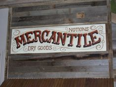 Love this old sign!