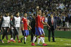 El delantero del Hoffenheim de Alemania se refirió al presunto castigo de oficio que puede recibir por parte de la FIFA a raíz de un gesto obsceno ante Uruguay. Diciembre 13, 2015.