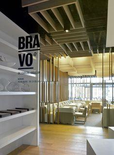 Restaurante Bravo24 de Isabel López Vilalta, en el Hotel W de Barcelona.