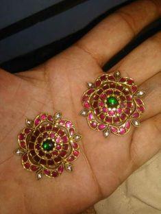Silver Bracelet With Initial Gold Earrings Designs, Gold Jewellery Design, Silver Jewelry, Silver Ring, Silver Earrings, Jhumka Designs, Antique Jewelry, Jewelry Box, Pearl Earrings