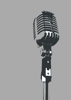 3 shades of music - microphone