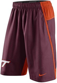 NIKE Nike Virginia Tech Hokies Vt Men'S Fly Xl 3.0 Dri-Fit Training Shorts.