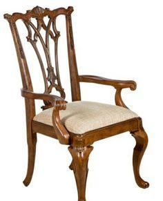 Sandalye..kolcakli..masif..el oymasi..nurbukkadesign