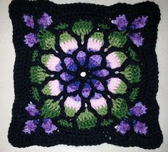 Ravelry: Project Gallery for Stained Glass Window Afghan pattern by Melody MacDuffee