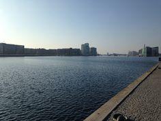 Kalvebod brygge, Copenhagen. Perfect walk by the water.