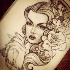 Resultado de imagem para gueixa tattoo