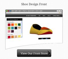 The premium designing experience for your online shoes design