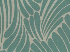 Fingers from Florence Broadhurst via Signature Prints #fabric #crypton #blue
