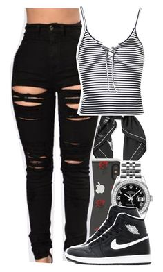 """Untitled #5918"" by rihvnnas ❤ liked on Polyvore featuring Equipment, Sonix, Rolex and Topshop"
