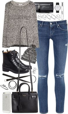 styleselection:  outfit for autumn by im-emma featuring heart jewelry