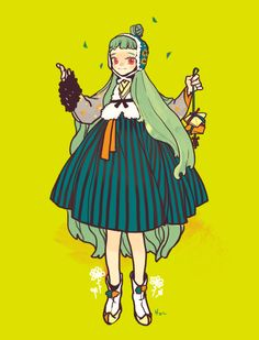 Hanbok illustration : RocoA
