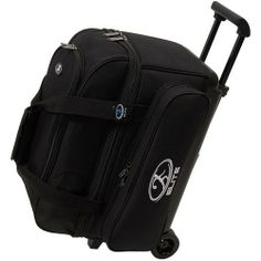 Elite Deuce Black Bowling Bag by Elite. $58.99. Peace of mind. That's what you'll have when you purchase an Elite Bowling Bag. Whether you carry one, two or three bowling balls, Elite Bowling Products has you covered. Made of tough 600-denier polyester oxford construction and welded steel hardware. We designed our bowling bags to not only look great, but to stand the test of time. Now the only thing to worry about is knocking down all ten pins. Two ball bowling bag. Durab...