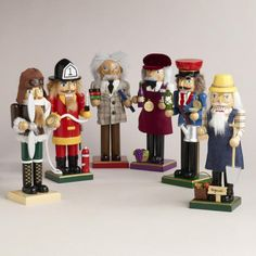 One of my favorite discoveries at WorldMarket.com: Occupation Nutcrackers