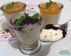 3 receitas de Cheesecake com Geléia no copinho - Amando Cozinhar - Receitas, dicas de culinária, decoração e muito mais!