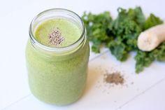 Recipe: Paleo Creamy Green Smoothie made with Coconut Milk