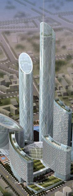 Modern Architecture | the best design architecture project. Modern buildings, contemporary design, futuristic projects,sustainable building| www.bocadolobo.com #bocadolobo #luxuryfurniture #exclusivedesign #interiodesign #designideas #modernarchitecture #futuristic #Skyscraper